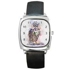 Bird 2552769 1920 Square Metal Watch