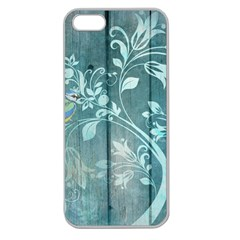 Green Tree Apple Seamless Iphone 5 Case (clear)