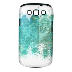 Splash Teal Samsung Galaxy S Iii Classic Hardshell Case (pc+silicone)