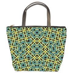 Arabesque Seamless Pattern Bucket Bags