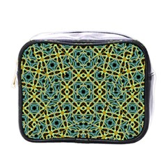 Arabesque Seamless Pattern Mini Toiletries Bags