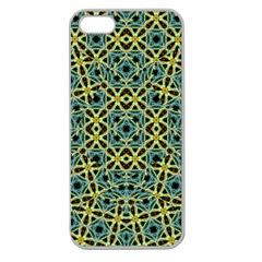 Arabesque Seamless Pattern Apple Seamless Iphone 5 Case (clear)
