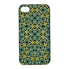 Arabesque Seamless Pattern Apple Iphone 4/4s Hardshell Case With Stand