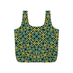 Arabesque Seamless Pattern Full Print Recycle Bags (s)