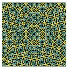 Arabesque Seamless Pattern Large Satin Scarf (square)