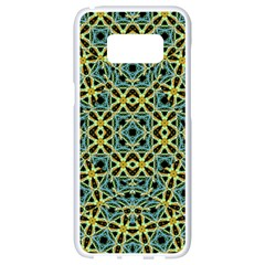 Arabesque Seamless Pattern Samsung Galaxy S8 White Seamless Case