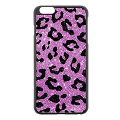 Skin5 Black Marble & Purple Glitter (r) Apple Iphone 6 Plus/6s Plus Black Enamel Case