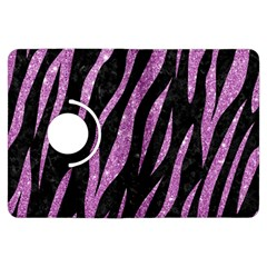 Skin3 Black Marble & Purple Glitter (r) Kindle Fire Hdx Flip 360 Case