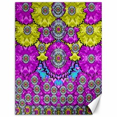 Fantasy Bloom In Spring Time Lively Colors Canvas 12  X 16