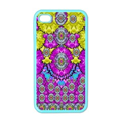 Fantasy Bloom In Spring Time Lively Colors Apple Iphone 4 Case (color)