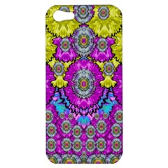 Fantasy Bloom In Spring Time Lively Colors Apple Iphone 5 Hardshell Case