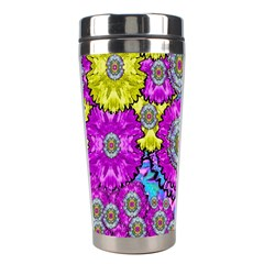 Fantasy Bloom In Spring Time Lively Colors Stainless Steel Travel Tumblers
