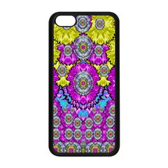 Fantasy Bloom In Spring Time Lively Colors Apple Iphone 5c Seamless Case (black)