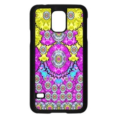 Fantasy Bloom In Spring Time Lively Colors Samsung Galaxy S5 Case (black)