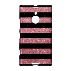 Stripes2black Marble & Pink Glitter Nokia Lumia 1520