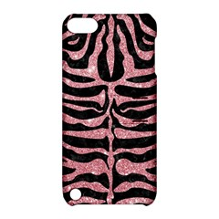 Skin2 Black Marble & Pink Glitter (r) Apple Ipod Touch 5 Hardshell Case With Stand