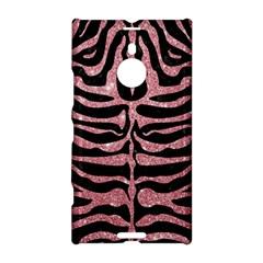 Skin2 Black Marble & Pink Glitter (r) Nokia Lumia 1520