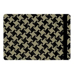 Houndstooth2 Black Marble & Khaki Fabric Apple Ipad Pro 10 5   Flip Case
