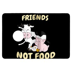 Friends Not Food   Cute Cow, Pig And Chicken Kindle Fire Hdx Flip 360 Case