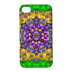 Sunshine In Mind The Season Is Decorative Fine Apple Iphone 4/4s Hardshell Case With Stand