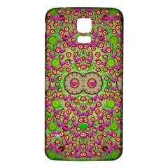 Love The Wood Garden Of Apples Samsung Galaxy S5 Back Case (white)