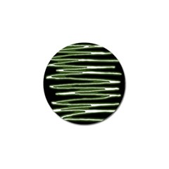 Sketched Wavy Stripes Pattern Golf Ball Marker (10 Pack)
