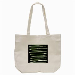 Sketched Wavy Stripes Pattern Tote Bag (cream)