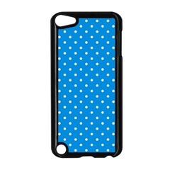 Blue Polka Dots Apple Ipod Touch 5 Case (black)