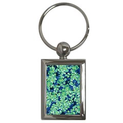 Moonlight On The Leaves Key Chains (rectangle)