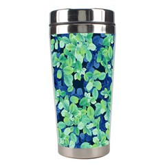 Moonlight On The Leaves Stainless Steel Travel Tumblers
