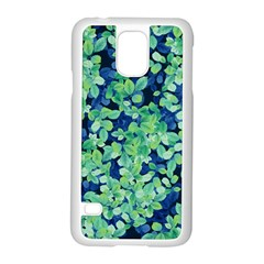 Moonlight On The Leaves Samsung Galaxy S5 Case (white)