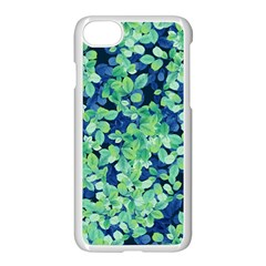 Moonlight On The Leaves Apple Iphone 8 Seamless Case (white)