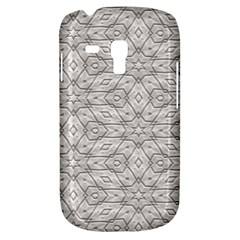 Background Wall Stone Carved White Galaxy S3 Mini