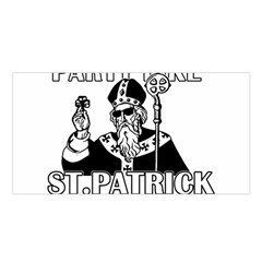 St  Patricks Day  Satin Shawl