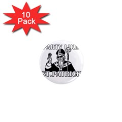 St  Patricks Day  1  Mini Magnet (10 Pack)