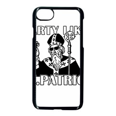 St  Patricks Day  Apple Iphone 8 Seamless Case (black)