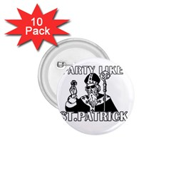 St  Patricks Day  1 75  Buttons (10 Pack)