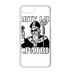 St  Patricks Day  Apple Iphone 8 Plus Seamless Case (white)