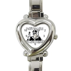 St  Patricks Day  Heart Italian Charm Watch