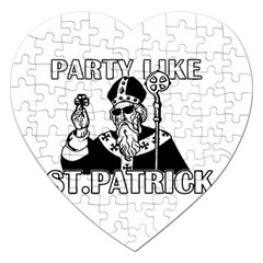 St  Patricks Day  Jigsaw Puzzle (heart)