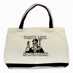 St  Patricks Day  Basic Tote Bag (two Sides)