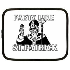 St  Patricks Day  Netbook Case (xxl)
