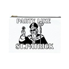 St  Patricks Day  Cosmetic Bag (large)