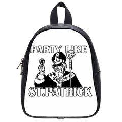 St  Patricks Day  School Bag (small)