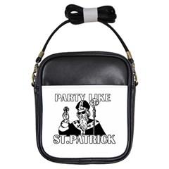 St  Patricks Day  Girls Sling Bags