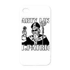 St  Patricks Day  Apple Iphone 4 Case (white)