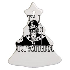 St  Patricks Day  Christmas Tree Ornament (two Sides)