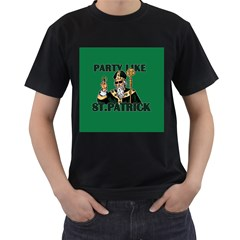 St  Patricks Day  Men s T Shirt (black)