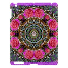 Roses In A Color Cascade Of Freedom And Peace Apple Ipad 3/4 Hardshell Case