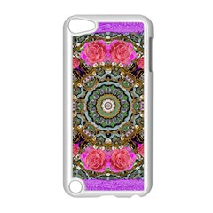 Roses In A Color Cascade Of Freedom And Peace Apple Ipod Touch 5 Case (white)